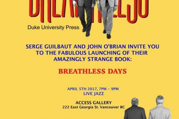 Breathless Days Book Poster 2017