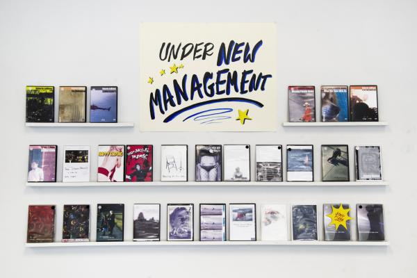 Under New Managment Video Store