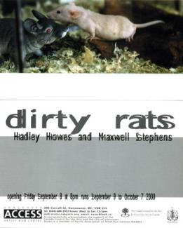 Flyer Dirty Rats